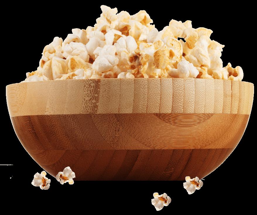 Popcorn Bowl - The Naked Kernel