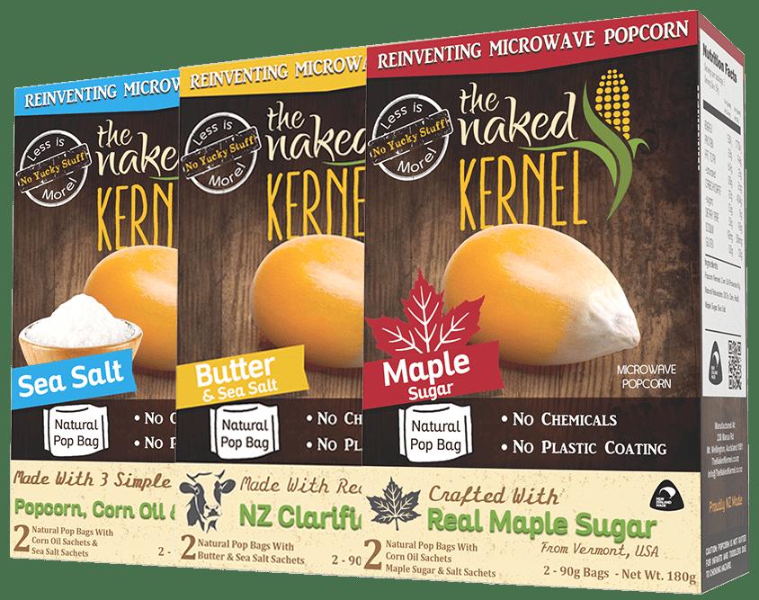 The Naked Kernel flavor options